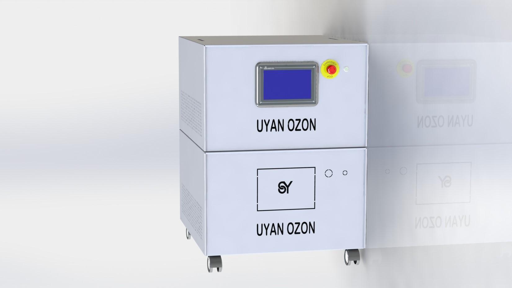 SY-OZYN-20D ÇİFTLİ ALTTA DAHİLİ OKSİJEN ÜSTTE OZON 20 GR OZON CİHAZI